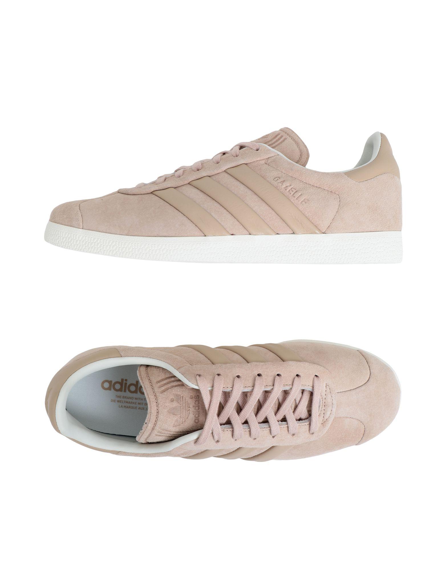 Baskets Adidas Originals Gazelle S&T - Femme - Baskets Adidas Originals Sable Dernières chaussures discount pour hommes et femmes