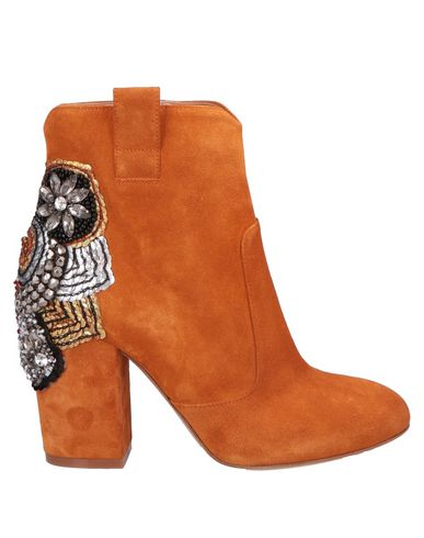 ELENA IACHI Ankle Boots in Tan