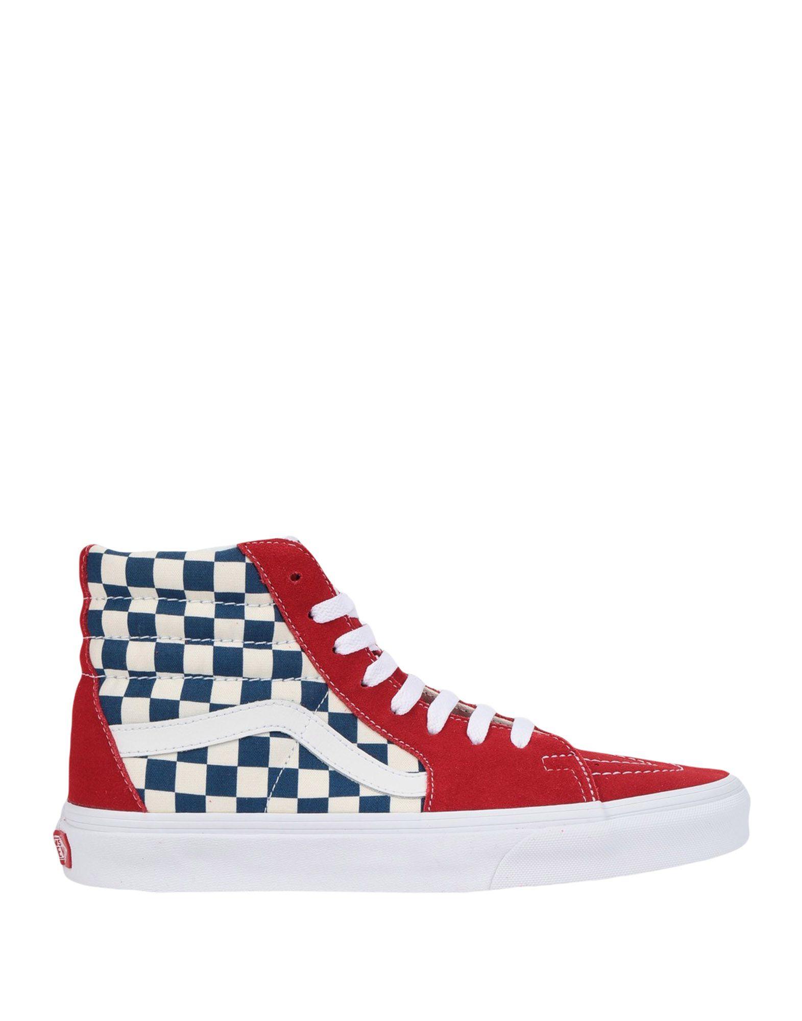 a1dde00832 Vans Ua Sk8-Hi (Bmx Checkerboard) - Sneakers - Men Vans Sneakers ...