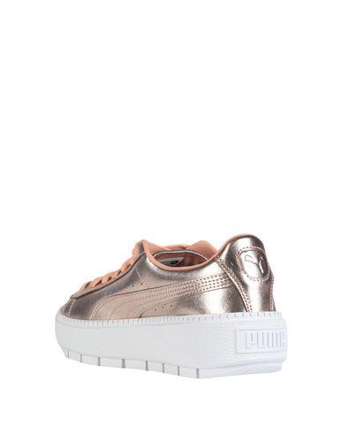 puma basket platform trace luxe