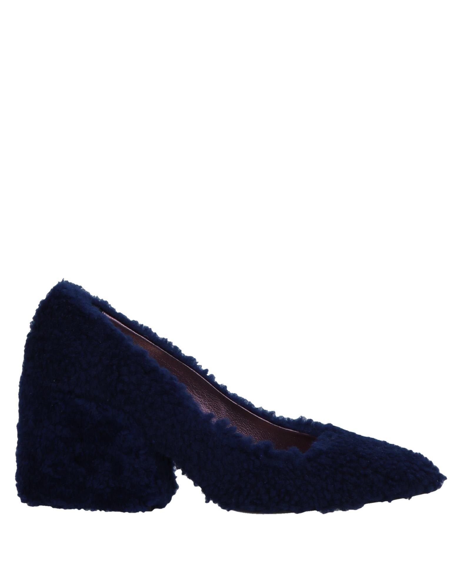 Escarpins Ras Femme - Escarpins belle Ras Bleu Confortable et belle Escarpins 2198ac