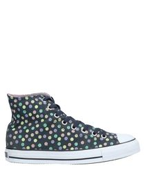 converse mujer lunares
