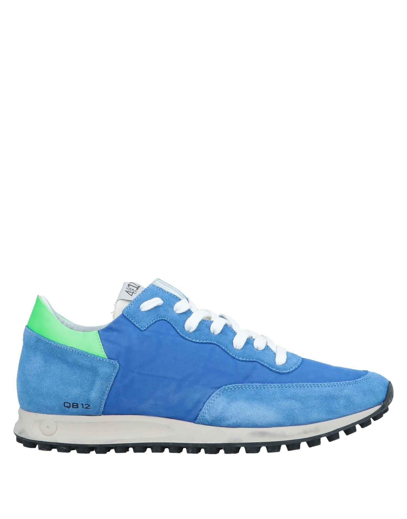 Zapatillas Quattrobarradodici Hombre - Zapatillas Quattrobarradodici  Azul eléctrico eléctrico Azul 0bc298