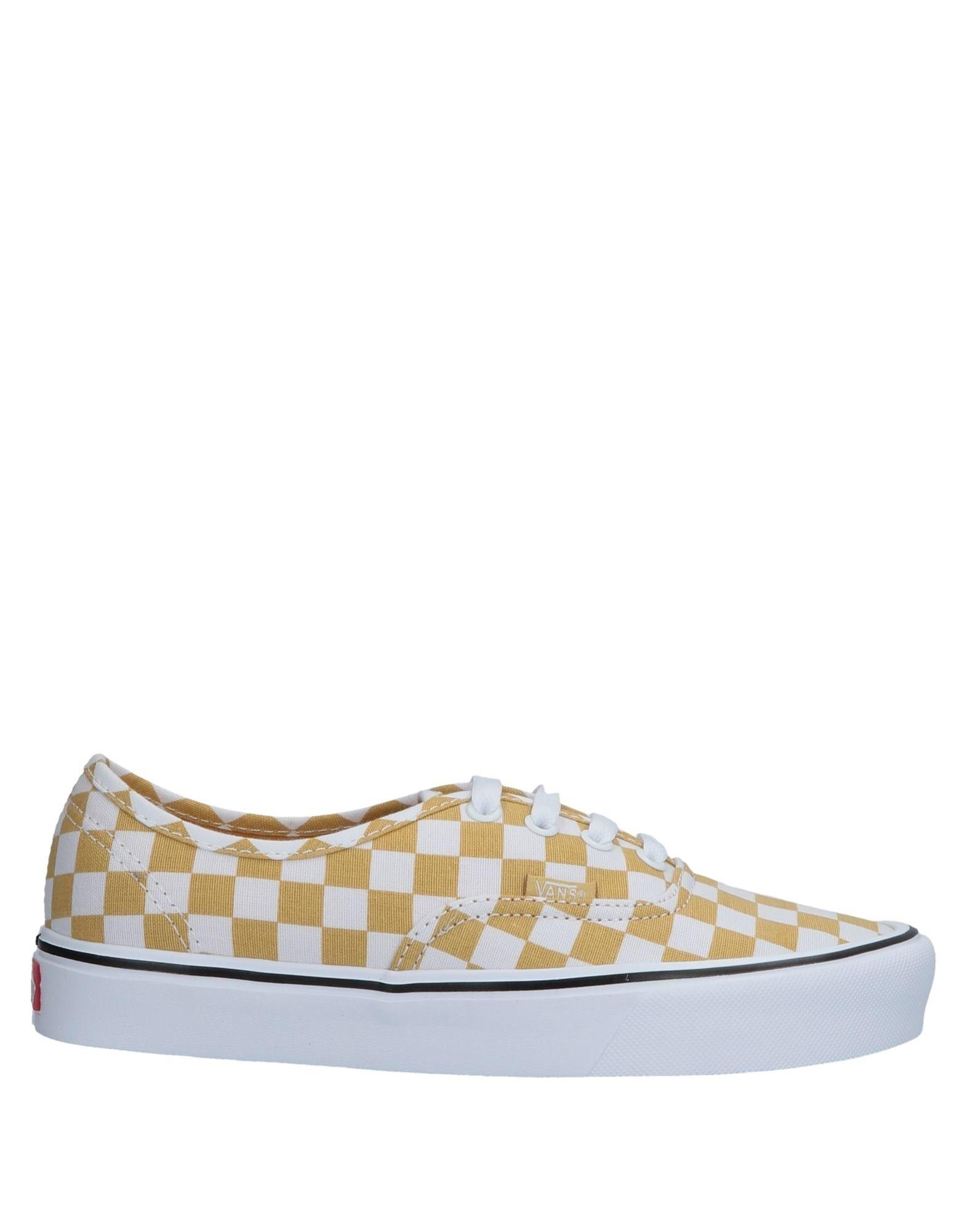 Baskets Vans Femme - Baskets Vans Jaune Nouvelles chaussures pour hommes et femmes, remise limitée dans le temps
