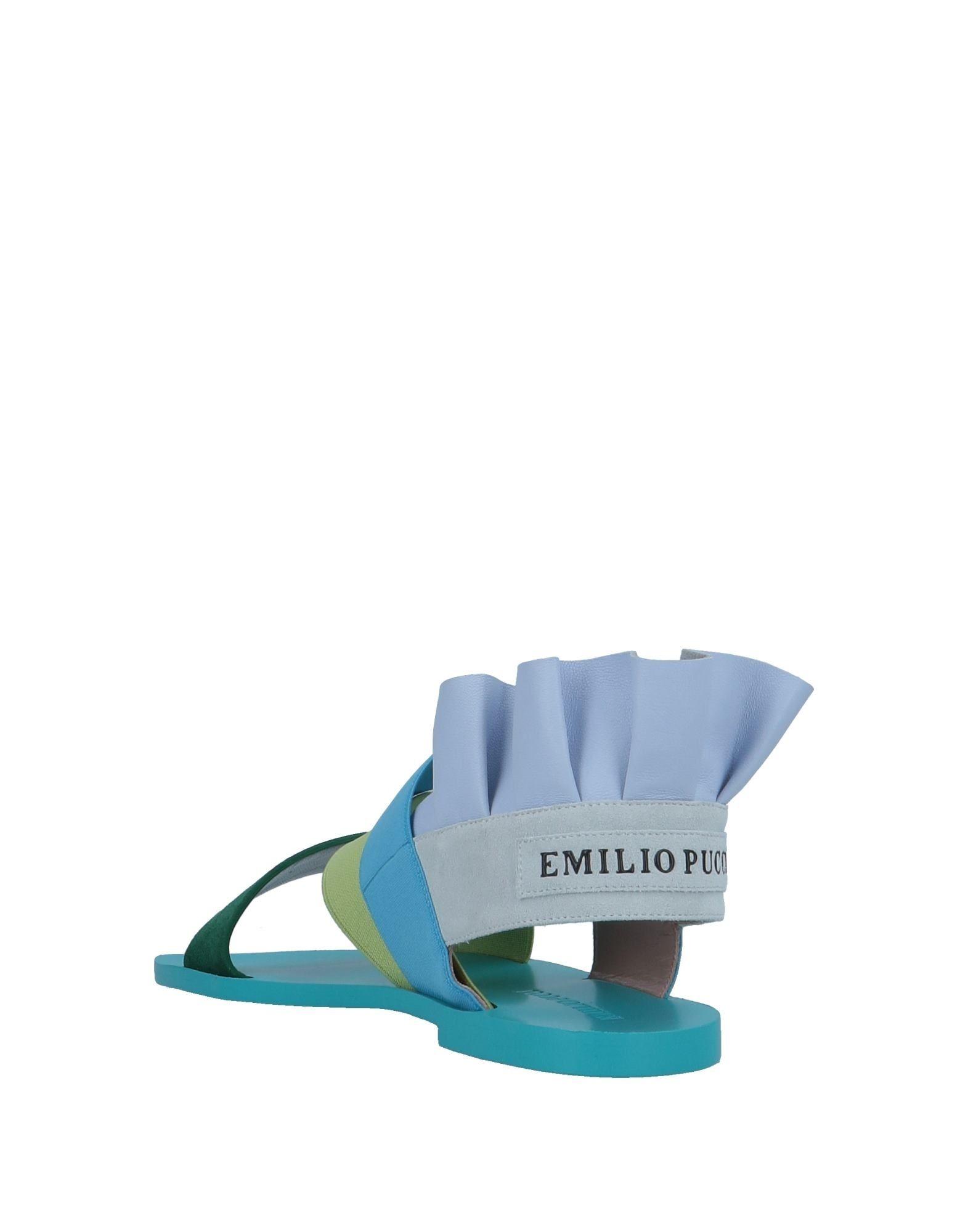 Emilio Pucci Sandalen Schuhe Damen 11573952NGGut aussehende strapazierfähige Schuhe Sandalen 9a8d6b