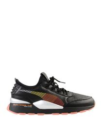 Puma Sneaker aus Leder 674288 (Beige)