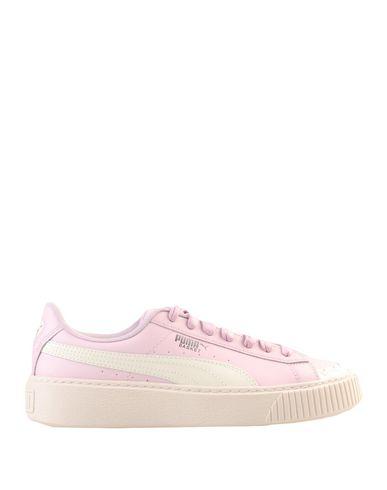 Puma Basket Platform Scallop Wn s - Sneakers - Women Puma Sneakers ... c41f42ab3722