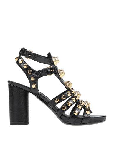 Balenciaga Scarpe Donna Sandali Nero