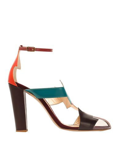 CAMILLA ELPHICK Sandals in Deep Jade