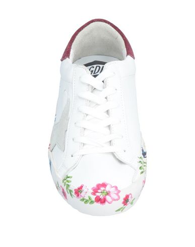 Brand Deluxe Goose Sneakers Blanc Golden RC8EwqPP