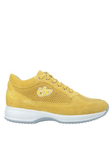 Donna Byblos Scarpe Ocra Sneakers Blu