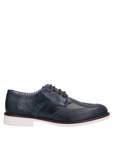 DAMA Lace-Up Shoes in Dark Blue