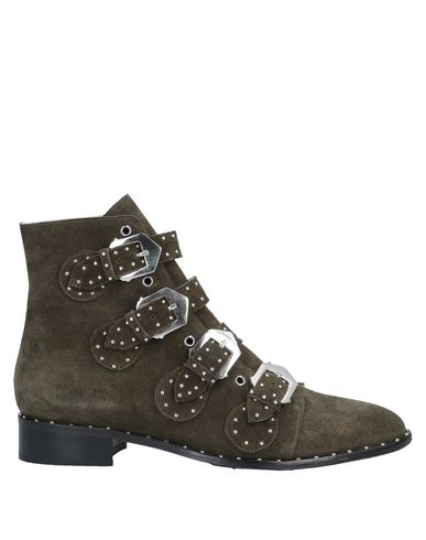 CARPE DIEM Ankle Boot in Military Green