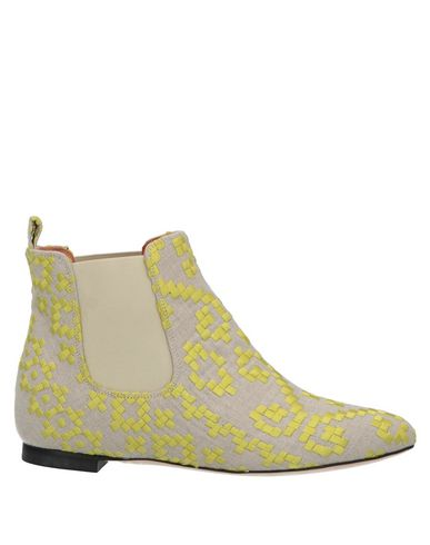 BAMS Ankle Boots in Beige
