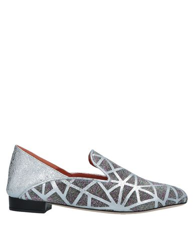 BAMS Loafers in Silver