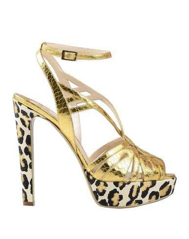 ERNESTO ESPOSITO Sandals in Gold