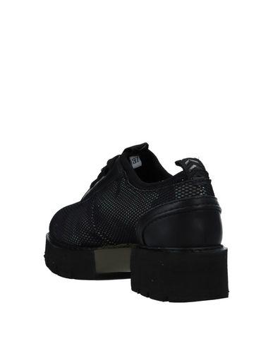 x s Lacets O Noir Chaussures À P0YppqSw