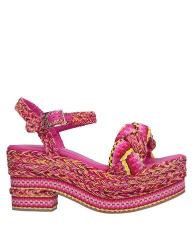 ANTOLINA PARIS Sandals in Fuchsia