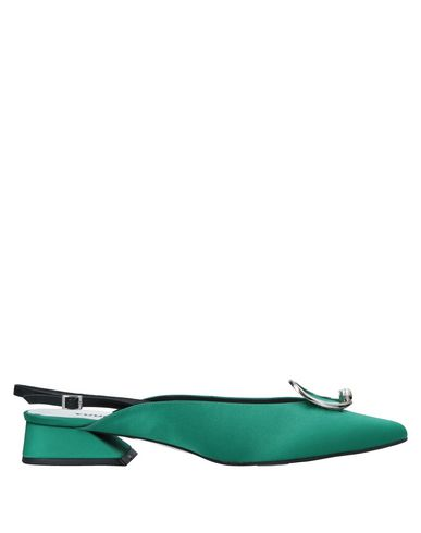 Verde Scarpe Donna Décolleté Yuul Yie