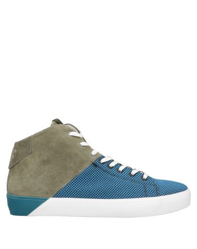 Leather Crown Sneakers - Men Leather