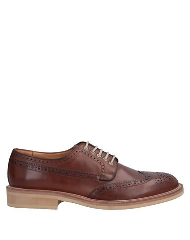 ORTIGNI Laced Shoes in Tan