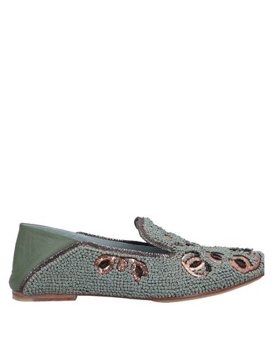 MEHER KAKALIA Loafers in Military Green