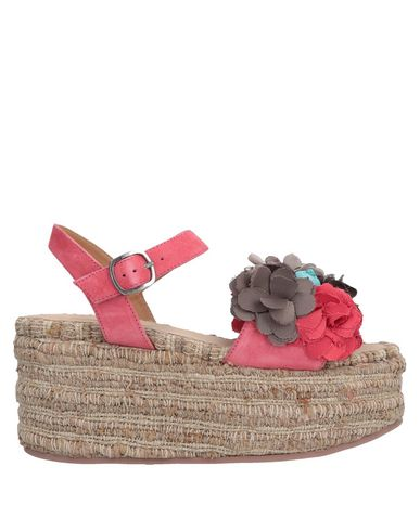 CORAL BLUE Sandals in Coral