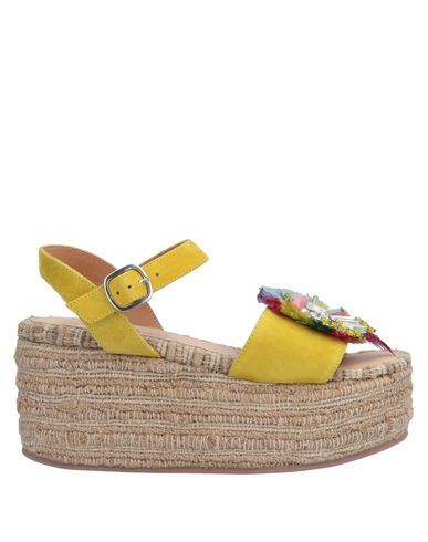 CORAL BLUE Sandals in Yellow