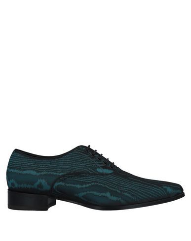 MAX VERRE Lace-Up Shoes in Deep Jade
