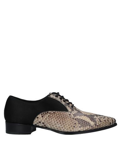 MAX VERRE Lace-Up Shoes in Beige
