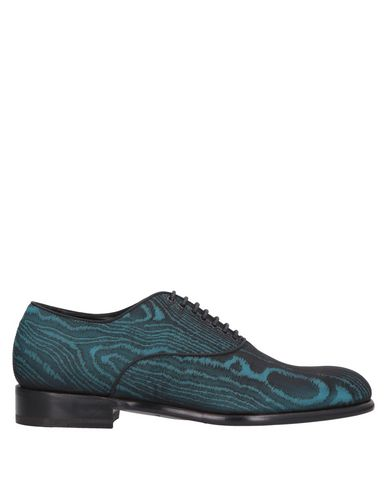 MAX VERRE Lace-Up Shoes in Turquoise