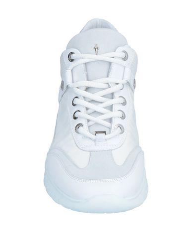 4us Cesare Paciotti Blanc Sneakers Cesare Paciotti vTvan8x