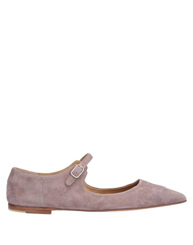 POMME D'OR Ballet Flats in Dove Grey