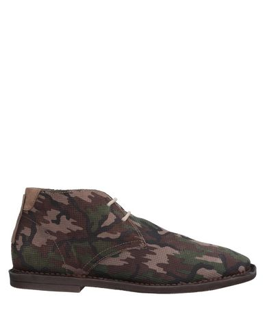 REPLAY Boots in Military Green