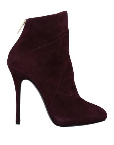 WO MILANO Ankle Boot in Maroon