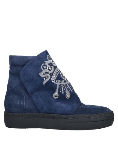 ELENA IACHI Ankle Boots in Blue