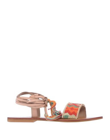 STAR MELA Sandals in Orange