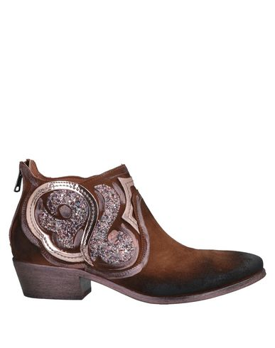 ELENA IACHI Ankle Boots in Brown