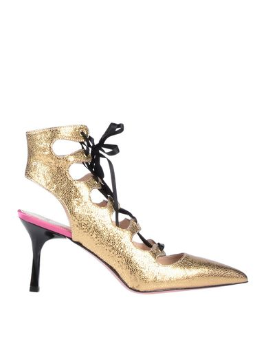 TIPE E TACCHI Ankle Boot in Gold