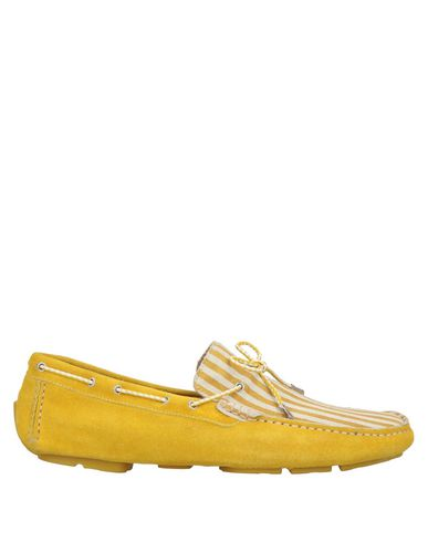 GOLD BROTHERS Loafers in Ocher