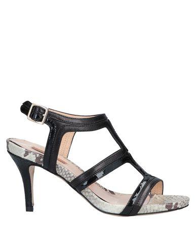 GAIA D'ESTE Sandals in Black