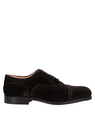 STEVE'S Laced Shoes in Dark Brown