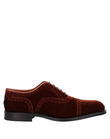 STEVE'S Laced Shoes in Rust