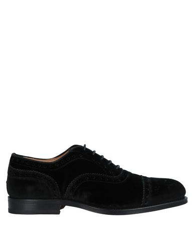 STEVE'S Laced Shoes in Black