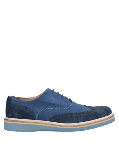 GOLD BROTHERS Laced Shoes in Blue