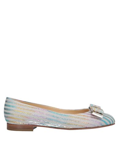 A.TESTONI Ballet Flats in Light Grey
