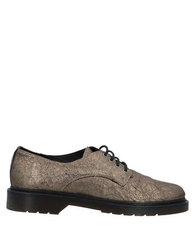 SUSANA TRACA Lace-Up Shoes in Platinum