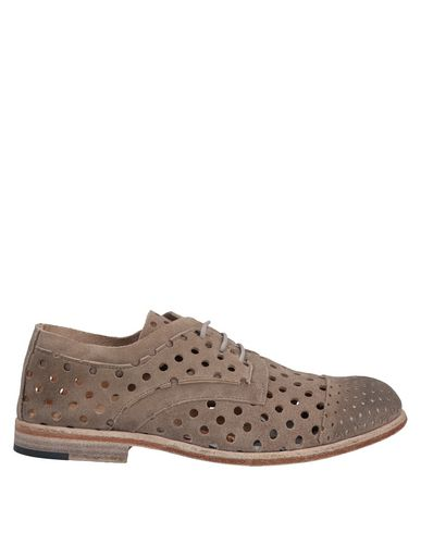 ERNESTO DOLANI Laced Shoes in Light Brown