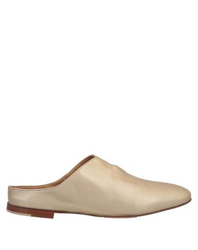 POMME D'OR Mules in Gold