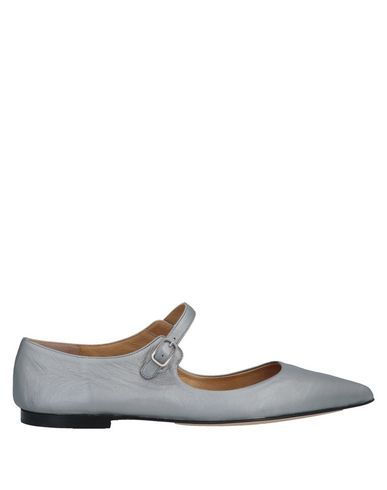 POMME D'OR Ballet Flats in Silver